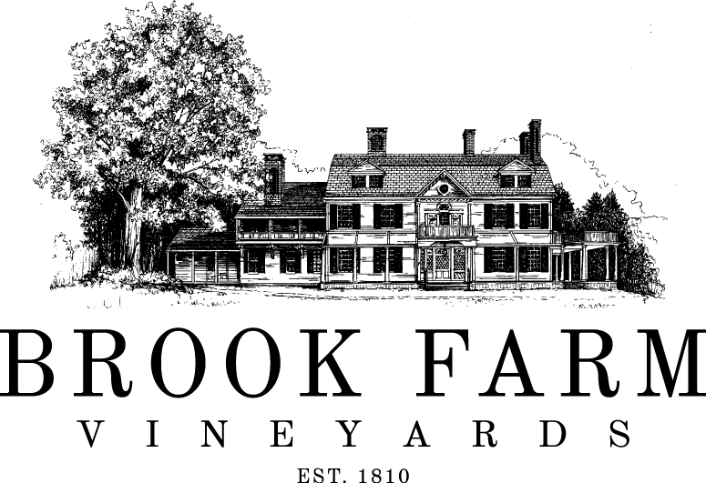 Brook Farm Vineyards logo